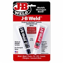 J-B WELD TWIN TUBE 1OZ EA