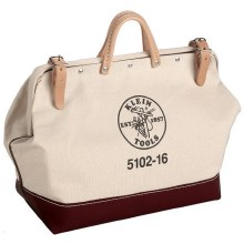 "16"" CANVAS TOOL BAG"
