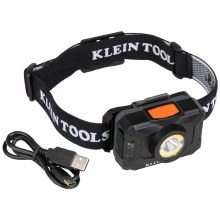 RECHRGBLE 2-COLOR LED HEADLAMP