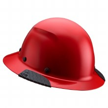 RED DAX FIBER RESIN HARD HAT