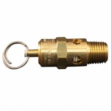 "1/4"" MNPT SAFETY VALVE 125PSI"