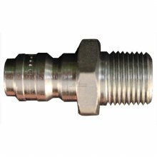 "3/8"" NPT STRAIT THRU MALE PLUG"