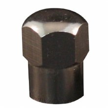 METAL VALVE CAPS, HEX TYPE