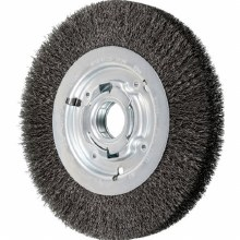 "8"" CRIMPED WHEEL .010 WIRE, 2"" ARBOR"