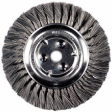 "6"" KNOTTED WHEEL 5/8-1/2, .014 WIRE"