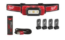USB Recharg. Hard Hat Headlamp