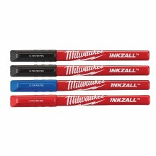 4PK INKZALL COLOR ULTRA FN PEN
