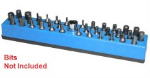 MAGNETIC 1/4 BIT HOLDER BLUE