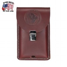 CLIP ON LEATHER PHONE HOLSTER