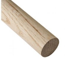 """OAK DOWEL ROD - 1/4"""""""