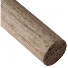 """WALNUT DOWEL ROD - 1/4"""""""