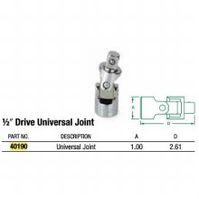 Universal Chrm 1/2Dr