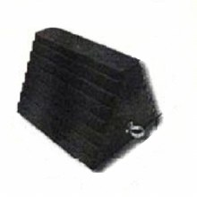 WHEEL CHOCK RUBBER 10X8X5
