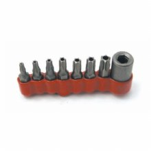 Tamper-Proof Torx Bit Set