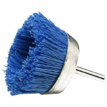 "2-1/2"" BLUE NYLON CUP BRUSH"