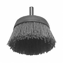 "2-1/2"" GRAY NYLON CUP BRUSH"