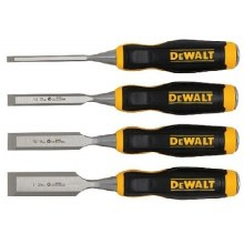 4 PC WOOD CHISELS