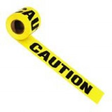 "300' x 3"" - CAUTION Tape"