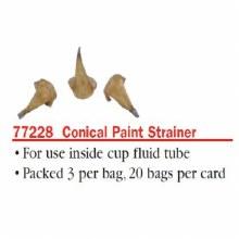CONE TYPE PAINT STRAINER 3pk