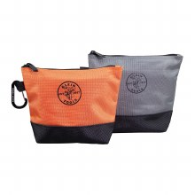 STAND UP ZIPPER BAG 2PK