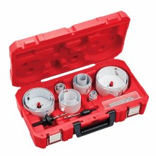 18pc PLUMBERS ICE HOLE SAW KIT