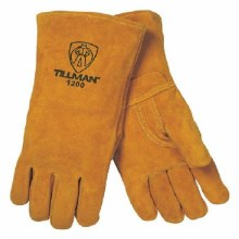 BROWN LEATHER WELDING GLOVES