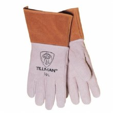 PIGSKIN TIG WELDING GLOVES-MED