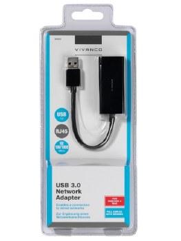 VIVANCO USB 3.0 NETWORK ADAPTER