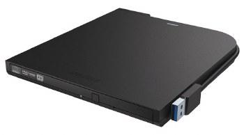 Buffalo MediaStation Portable DVD-Writer - Black