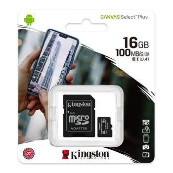 Kingston Canvas Select Plus 16 GB Class 10