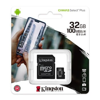 Kingston Canvas Select Plus 32 GB Class 10