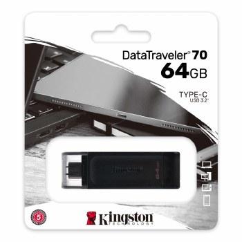 Kingston DataTraveler 70  USB-C Flash Drive