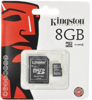 Kingston 8 GB microSDHC