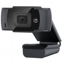 Manhattan 1080P USB Webcam - Black