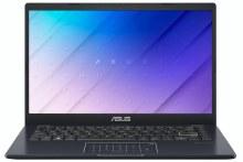 "Asus VivoBook 14""  4GB/64GB eMMC Laptop, Blue, E410M-BV003TS"