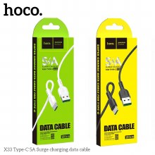 HOCO Surge FAST CHARGE 5A Type C X33 black