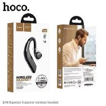 HOCO bluetooth headset Superior business wireless E48 black