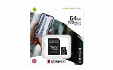 Kingston Canvas Select Plus 64 GB Class 10
