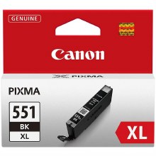 Canon CLI-551BK XL Black High Yield Inkjet Cartridge 6443B001