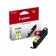 Canon CLI-551Y XL Yellow High Yield Inkjet Cartridge 6446B001