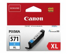 Canon CLI-571XL Cyan High Yield Ink Cartridge 0332C001