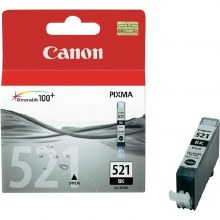 Canon CLI-521BK Black Inkjet Cartridge 2933B001