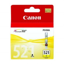Canon CLI-521Y Yellow Inkjet Cartridge 2936B001