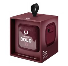 Fresh 'n Rebel Rockbox Bold S Bluetooth Speaker - Ruby Red