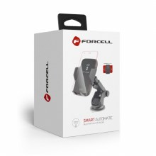 Forcell SMART AUTOMATIC Universal Car Holder with wireless charging