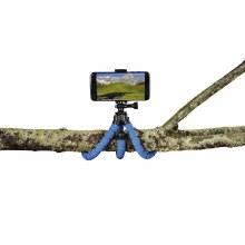 "Hama ""Flex"" Tripod for Smartphone and GoPro, 26 cm, blue"