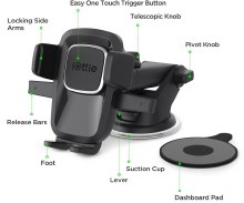 Easy One Touch 4 Dash & Windshield Car Mount