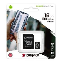 Kingston Canvas Select Plus 16 GB Class 10