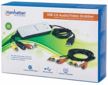 Manhattan USB Audio/Video Grabber