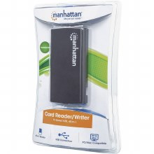 Manhattan Multi-Card Reader/Writer, USB 2.0, 60-in-1